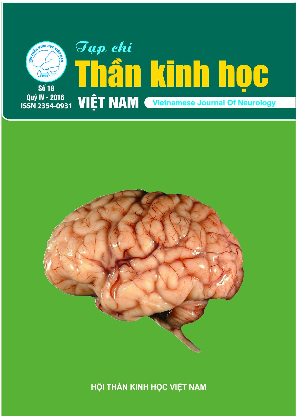Tạp chí Thần kinh học số 18
