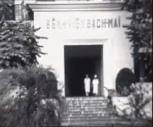 """Tư liệu hiếm: """"Dấu hiệu Gật gù ngón chân cái"""" – Bệnh viện Bạch Mai – 1968"""
